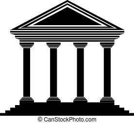 银行, 图标