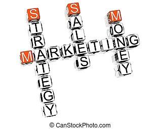 销售, 拼字游戏