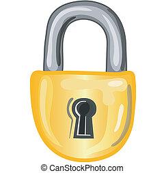 锁, 图标