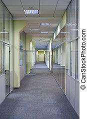 長い間, オフィス, 廊下