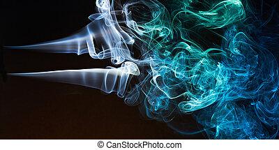 長い間, 煙, カーブ