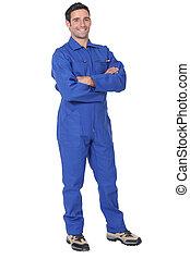 長さ, フルである, 労働者, ボイラー服
