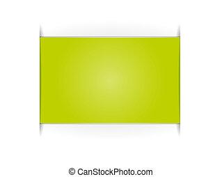 長方形, 緑, ラベル