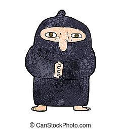 長袍, 卡通, 僧侶
