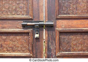 門鎖, key.
