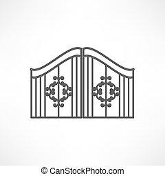 門, アイコン