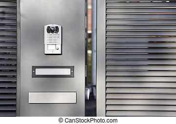 門, セキュリティシステム