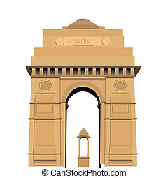 門, デリー, 旅行, indian, インド, 新しい