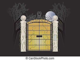 門, ハロウィーン