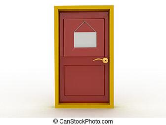 門, 以及, 門, 簽署