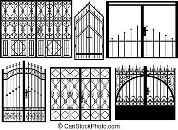 門, 別, セット