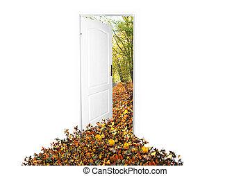 門, 到, 新的世界