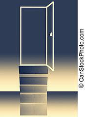 門, ......的, 機會, 概念