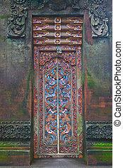 門, 石頭, 雕刻