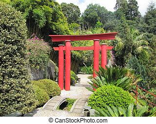 門, 鳥居, 日本語