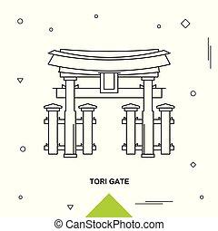 門, tori