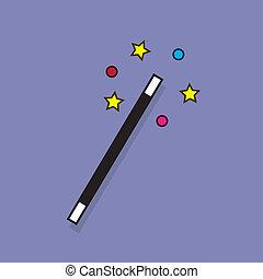 閃閃發光, 棍棒, 魔術