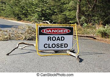 閉じられた, 道, オーストラリア