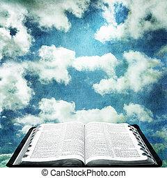 開いている聖書, グランジ, 空