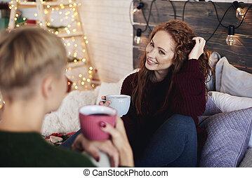 開支, 寢室, 朋友, 圣誕節時間