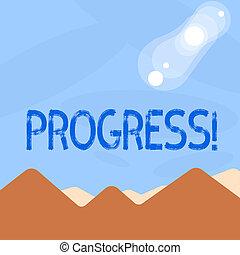 開発, 概念, 単語, ビジネス, プロセス, テキスト, 執筆, goal., 成長, progress., 改善, 目的を達しなさい