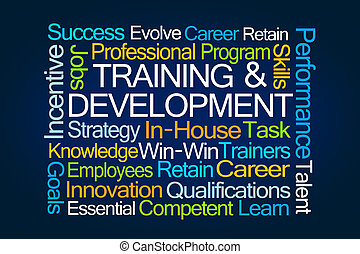 開発, 訓練, 単語, 雲
