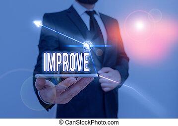 開発, change., 執筆, テキスト, よりよい, 成長しなさい, 手書き, 作りなさい, capacities, 概念, 意味, 増加, なる, improve.