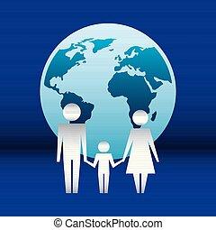 関係をもちなさい, 保護, 家族