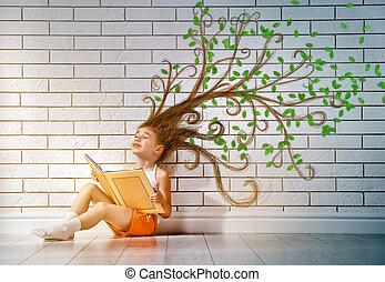閱讀一本書