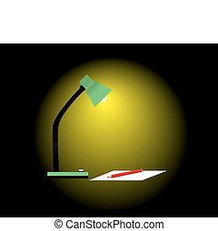閱讀, 燈