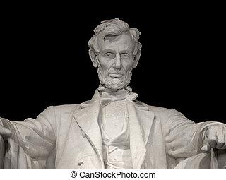 關閉, 林肯紀念館, 向上