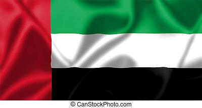 阿拉伯聯合酋長國, 旗, 吹乘風