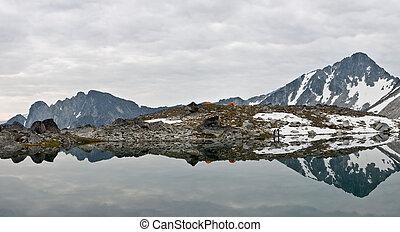 阿爾卑斯山, 荒野, 露營