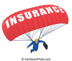 降落伞, 保险