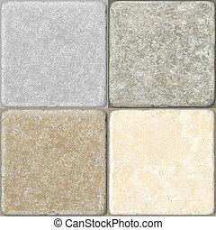 陶瓷, 地板, seamless, 瓦片