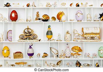 陶瓷, 小雕像