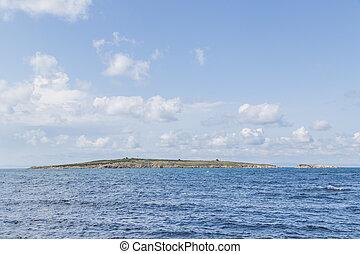 陸地, 海