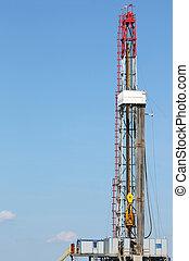 陸地, 石油操練, 裝置, 採礦, 工業