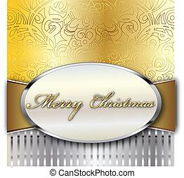 陽気, ベクトル, クリスマスカード