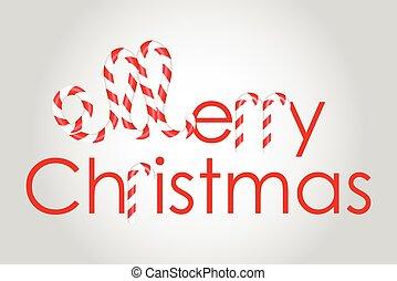 陽気, ベクトル, クリスマス, 背景