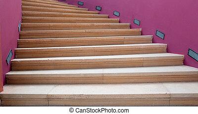 階段, らせん状に動きなさい