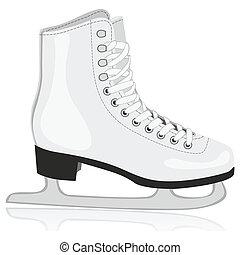 隔離された, アイススケートをする