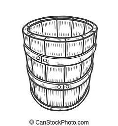 隔離された, 樽, ワイン, ビール, ∥あるいは∥