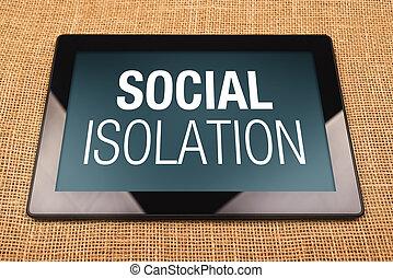 隔離, 社會