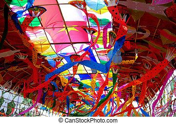 隧道, 風箏