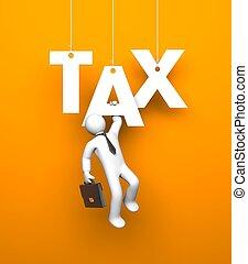 隱喻, 事務, tax.