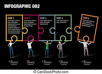 难题, infographic