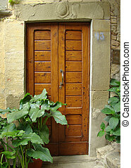雅致, 意大利語, 門, 由于, 外套, ......的, 家庭