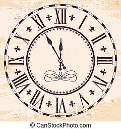 雅致, 羅馬, clock.