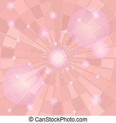 雅致, 背景, 粉紅色, 摘要